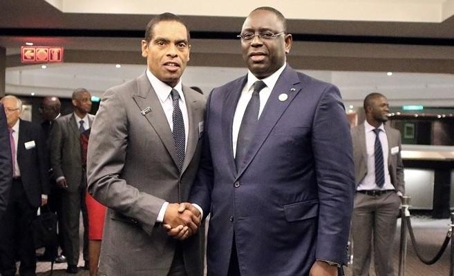 Dr Sobrinho & HE Pres Macky Sall
